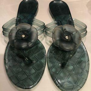 Chanel plastic sandals